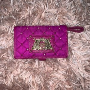 Juicy Couture Purple & Gold Wallet